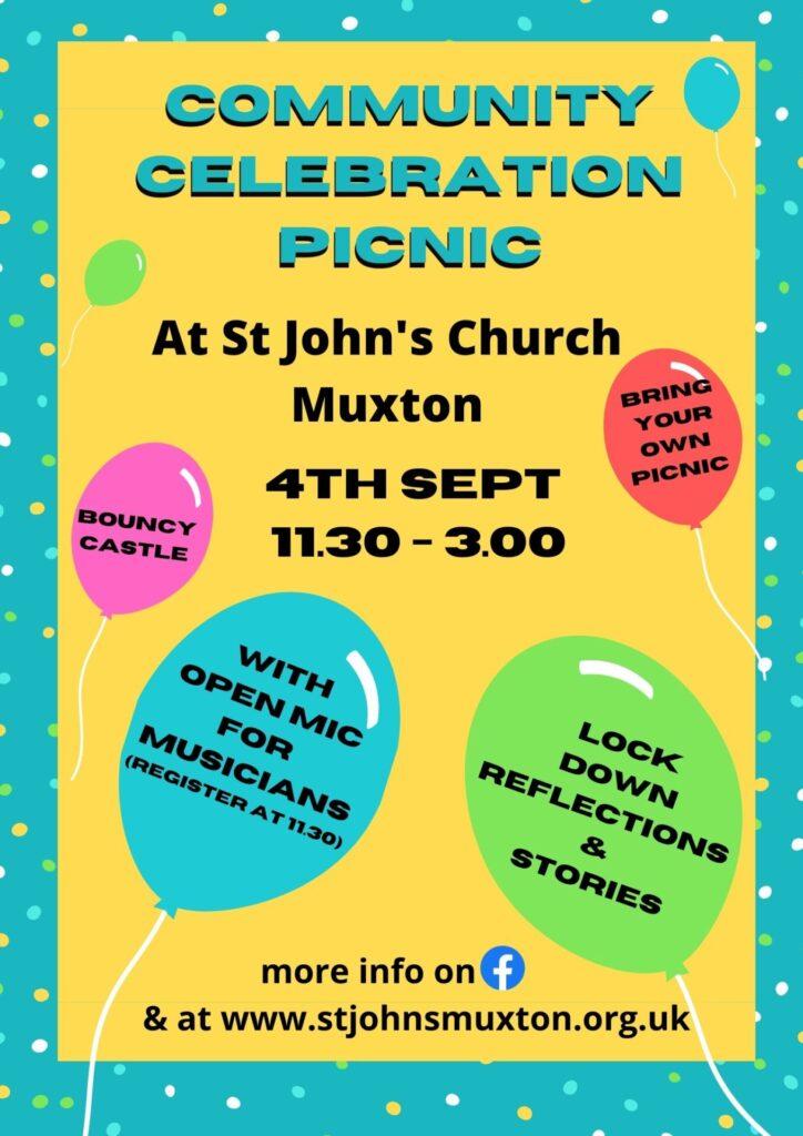 Community Celebration Picnic